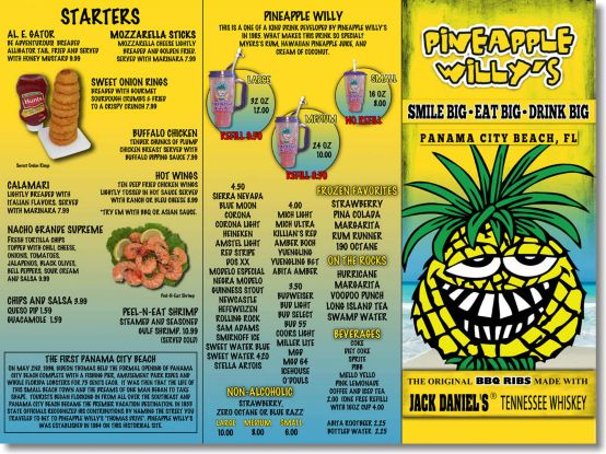 Pineapple Willy's @Panama City Beach