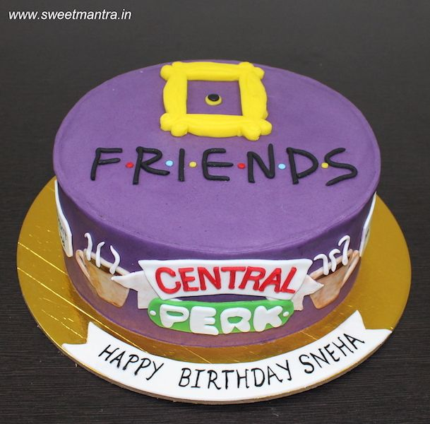 Friends Tv Show Birthday Cake Pictures