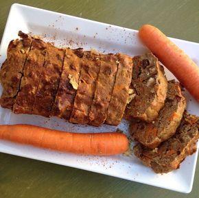 gezonde wortelcake brood recept