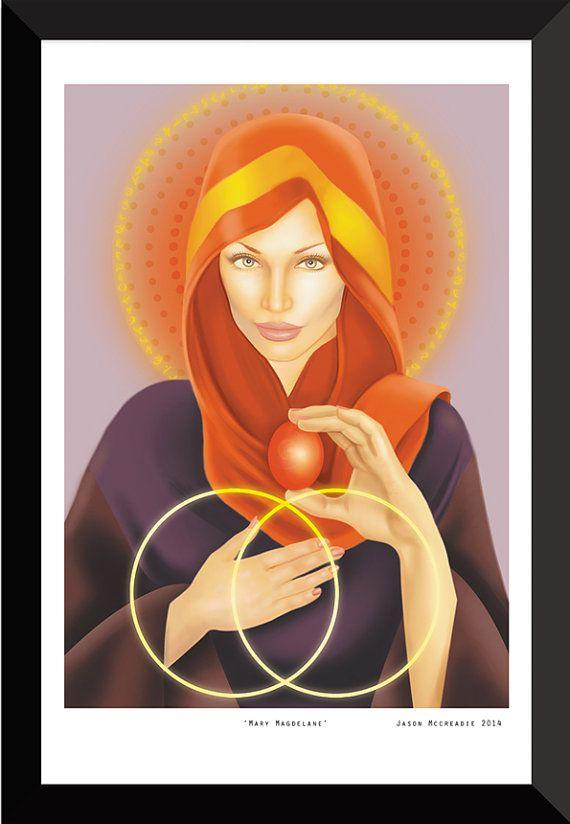 Mary Magdalene Art Print by Jason Mccreadie 2014