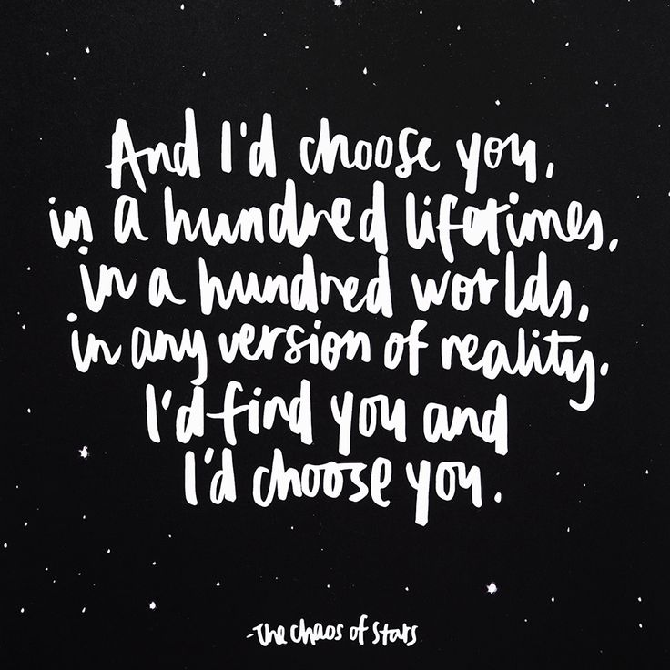 I'd choose you #lovequote // 10 Tips For Writing Your Own Wedding Vows (Instagram: theweddingscoop)