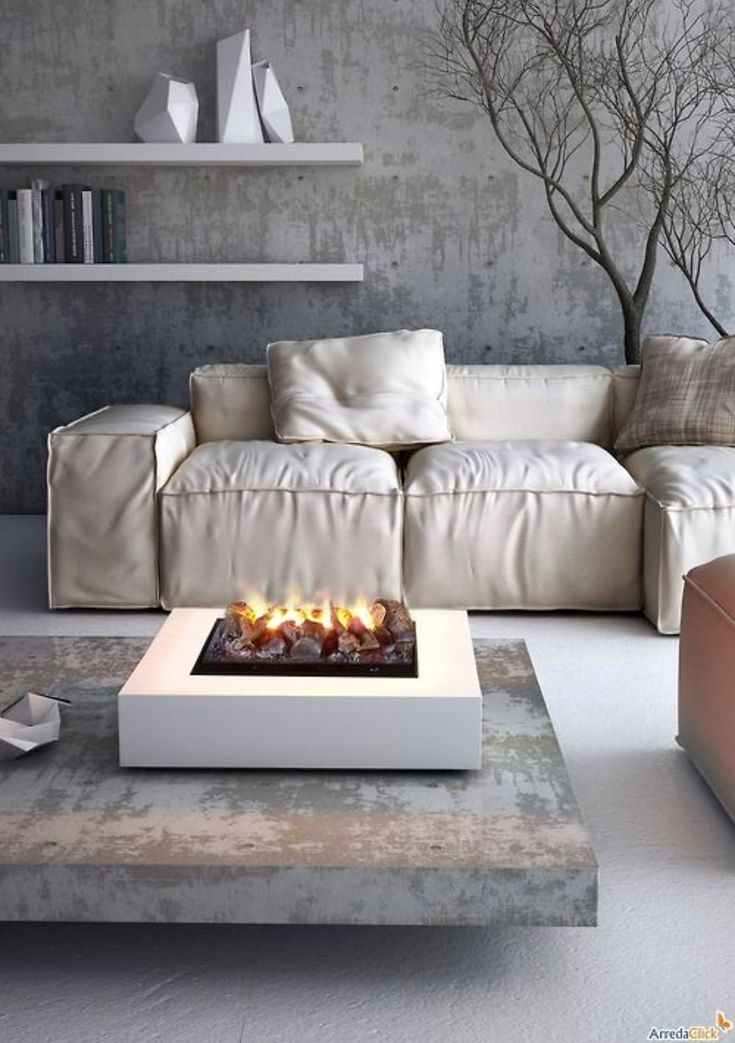 Fire Pit Kits Minimalist Grey Living Room Theme With Fire Pits For Sale Comfy Couch White On Square Indoor Fire Pits, Modern Living Room Designing With Indoor Fire Pit Ideas: Furniture