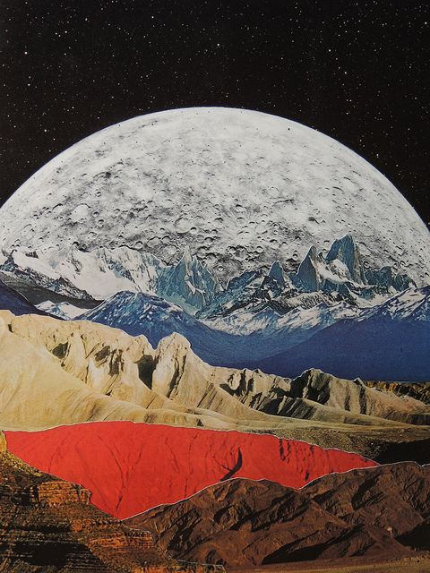 Collage Art Artist Unknown