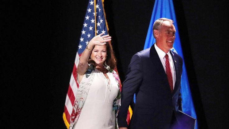 Ryan Zinke's wife is under fire for treating Interior Department staff like her personal party planners.