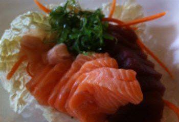 Recept voor Sashimi van ZALM en TONIJN. Ingredienten zijn voor 1 persoon. | Solo Open Kitchen