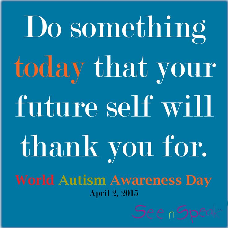 United Nations World Autism Awareness Day.