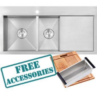 Laguna Kitchen Sink (1000x510mm) - Builders Discount Warehouse