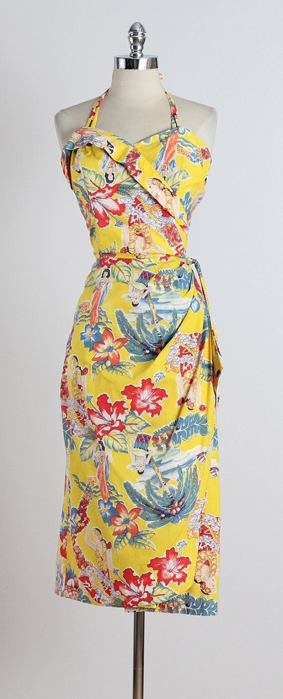 Frank Mcintosh . vintage 1950s dress . by millstreetvintage