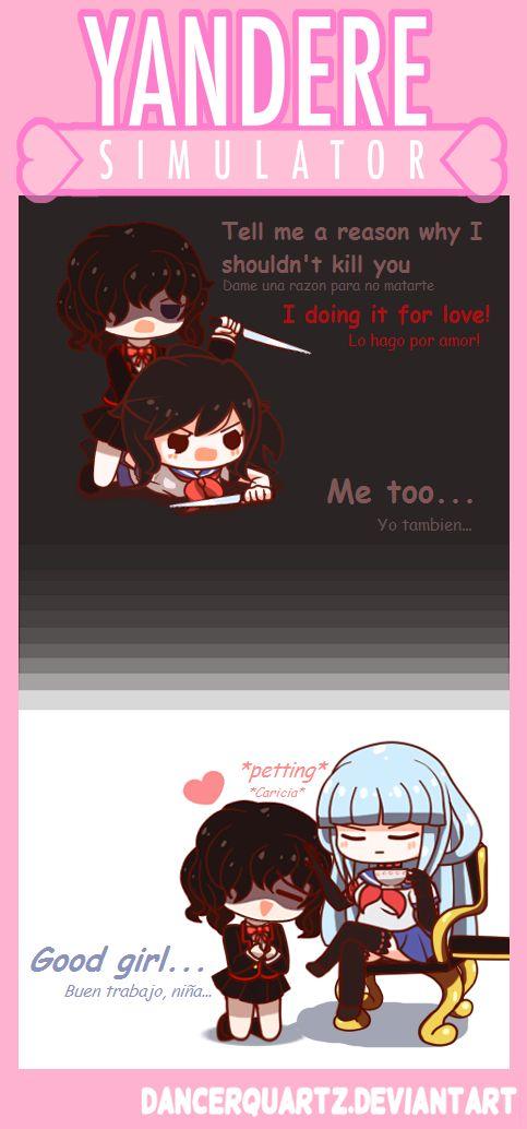 Yandere Comic - Nemesis-Chan by DancerQuartz.deviantart.com on @DeviantArt