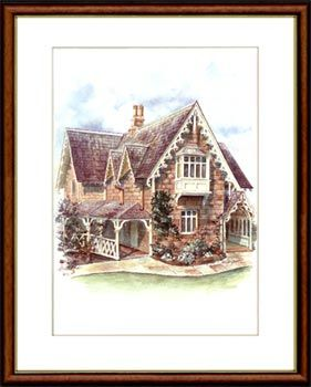 Olga Gostin… Roslyndale, Woollahra, Sydney, Australia... A fine example of Victorian Rustic Gothic architecture. Designed to evoke the picturesque quality of rural England.