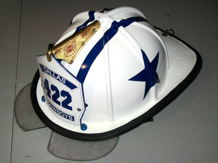 Dallas Cowboys Firefighter Helmet, made to order | NFL ...