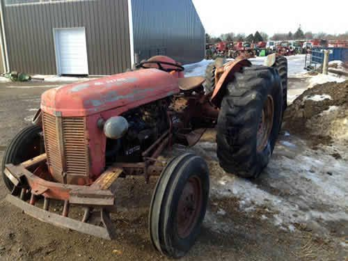 Ferguson To 30 Parts : Massey ferguson to tractor salvaged for used parts this