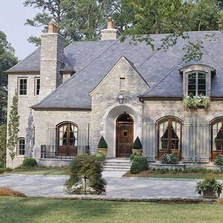 222 best french country exterior images on pinterest for French farmhouse architecture