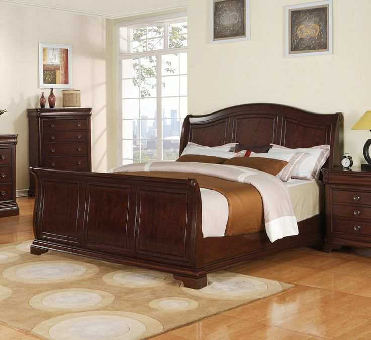 best 25 wooden sleigh bed ideas on pinterest black sleigh beds sleigh beds and sleigh bed frame - Types Of Beds