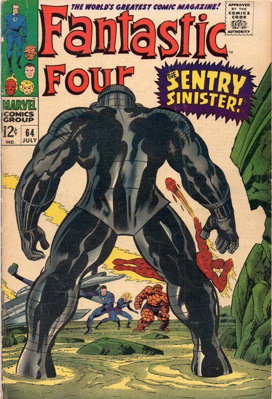 Fantastic Four #64.