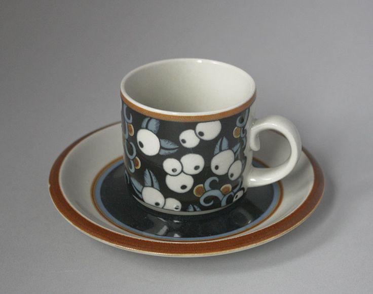 Arabia, kahvikuppi, Taika, Inkeri Seppälä - 1975-81