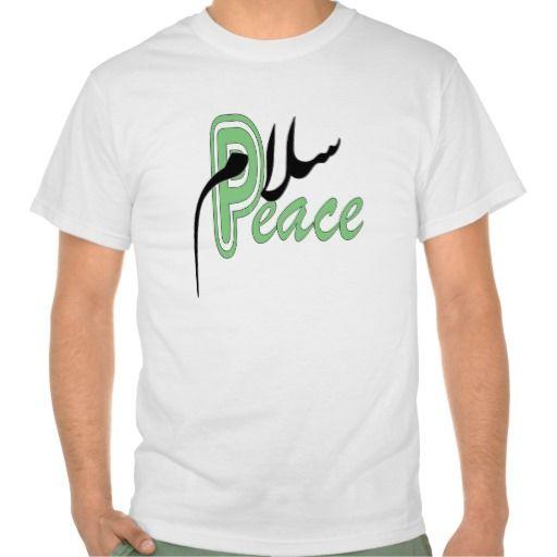 Salaam Peace muslim T-shirt