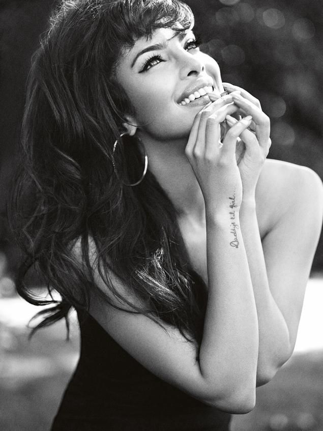 Priyanka Chopra, the latest Guess? model