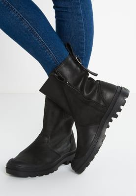 Schoenen Palladium PAMPA SLOUCH - Korte laarzen - black Zwart: 139,95 € Bij Zalando (op 26/11/16). Gratis verzending & retournering, geen minimum bestelwaarde en 100 dagen retourrecht!