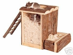 Nesting box!! Perfect for natural or wooden themed cages for hamsters!