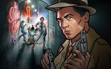 I see everyone talking about Rick and Morty season 3, but no one's talking about Archer season 8.