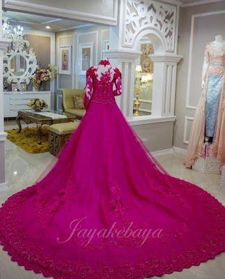 Beautiful Kebaya Modern Dress 2016 - Toska