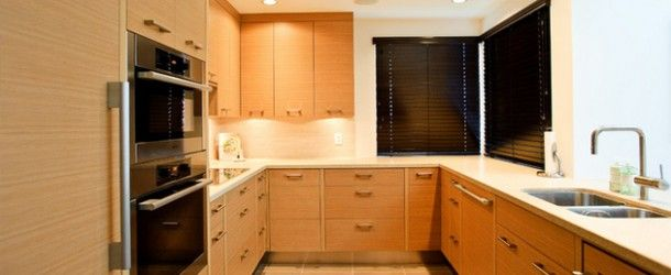 15 Contemporary U-shaped Kitchen Designs via @homedesignlover