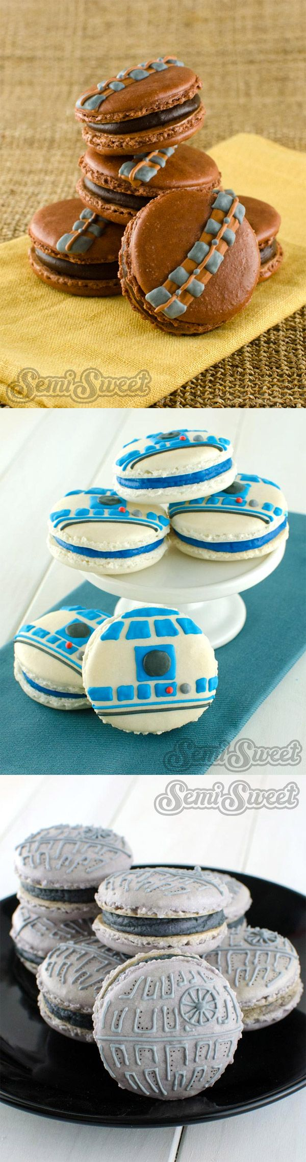 Macarons de Star Wars
