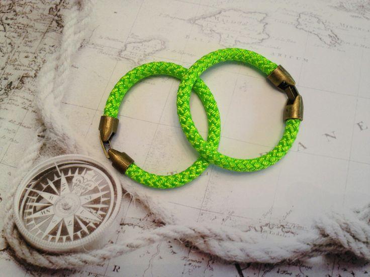 #green #bracelet for #women by #L4k3 available on #flooly link: www.flooly.com/it/bracciale-l4k3/16235