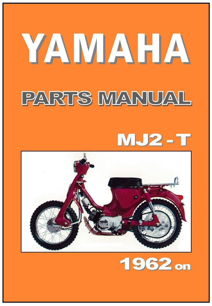 YAMAHA Parts Manual MJ2T MJ2-T MJ2 T 1962 1963 1964 1965 1966 Spares Catalog | eBay