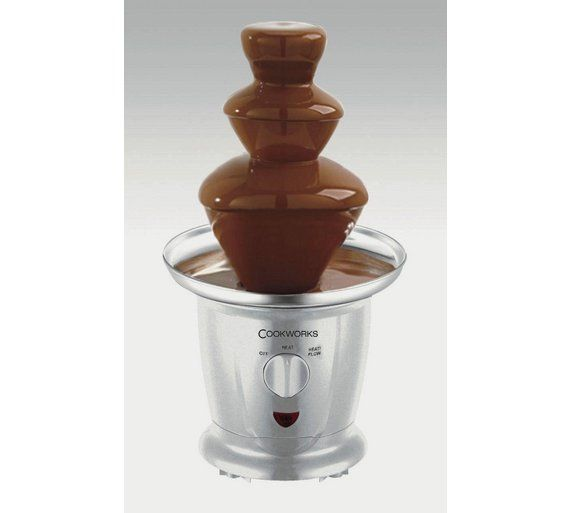 Cookworks Chocolate Fountain Chocolate Fountains