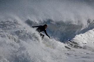 Big Wafe Surfing a Dangerous Sport