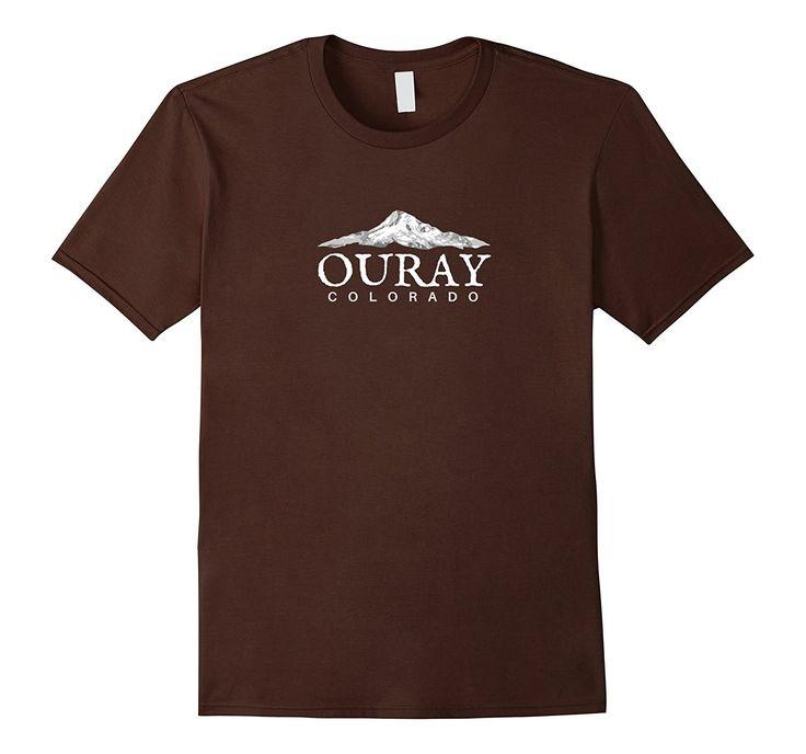 Ouray Colorado T-Shirt- Colorado Mountain T-Shirt