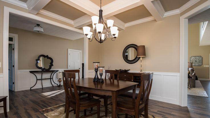 10 Best Dining Rooms Images On Pinterest  Dining Rooms Models Captivating Coffered Ceiling Dining Room Inspiration Design