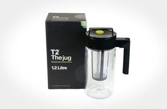 T2 The Jug 1.2L Black | T2 Tea