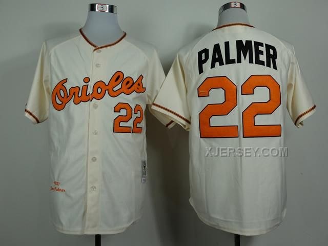 http://www.xjersey.com/orioles-22-palmer-cream-1970-throwback-jerseys.html ORIOLES 22 PALMER CREAM 1970 THROWBACK JERSEYS Only $34.00 , Free Shipping!