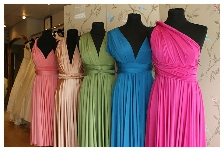 Two Birds bridesmaids dresses - so cool
