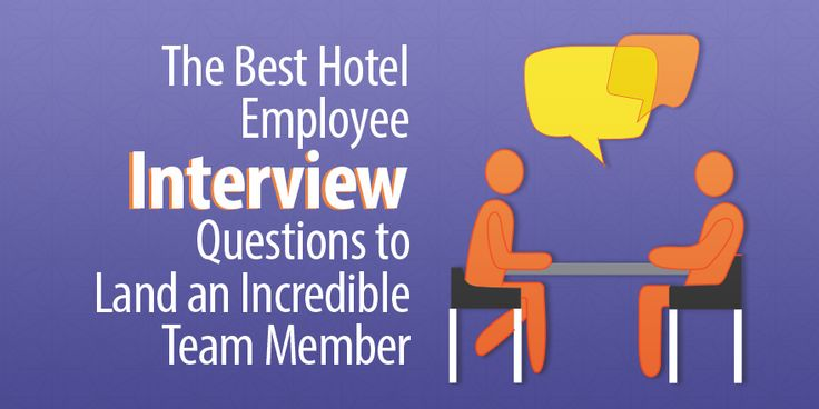 hotel employee interview questions Hotel Management Pinterest - hotel interview questions