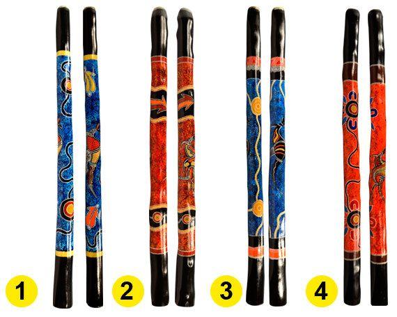 Hand Painted Didgeridoo 1.3 m Mallee Gum by AboriginalOzArt