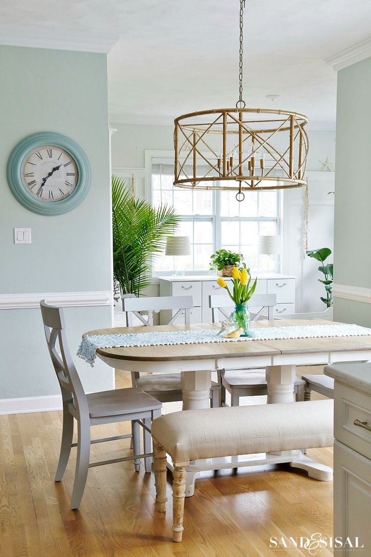64 best dining room images on pinterest home tours dining room spring family room and kitchen tour