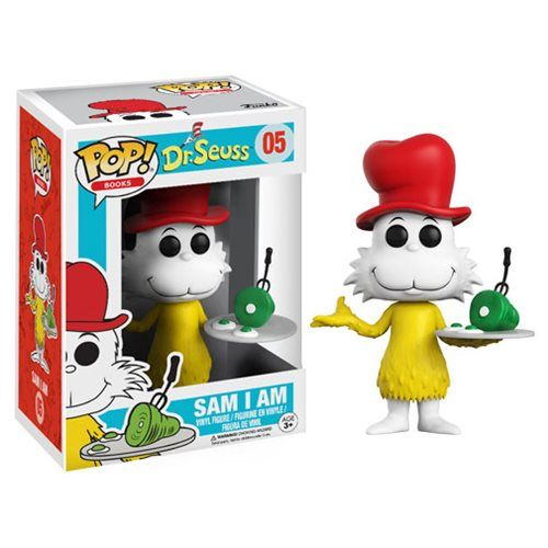 Dr. Seuss Sam I Am Pop! Vinyl Figure - Funko - Dr. Seuss - Pop! Vinyl Figures at Entertainment Earth