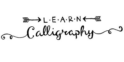 Learn How To Do Your Own Calligraphy Font Tips