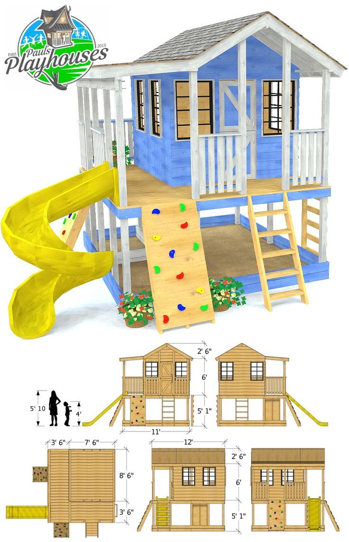 Randys Ranch-Spielhausplan