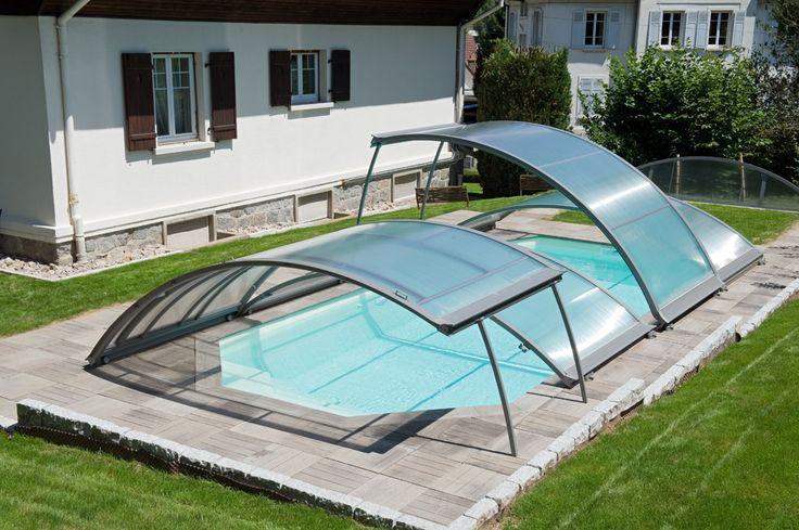 Ouverture de l 39 abri piscine bas amovible piscines for Ouverture piscine