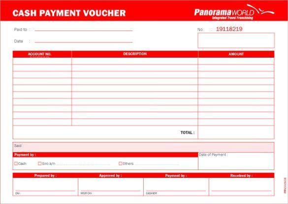 Más de 25 ideas increíbles sobre Voucher template free en - payment voucher sample
