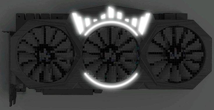 Появилось первое изображение 3D-карты Galax GeForce GTX 1080 Ti HOF