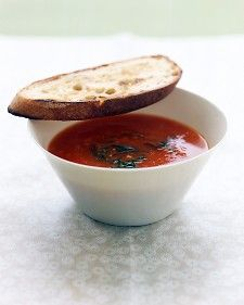 Roasted vegetable soup – martha stewart   – Real Food