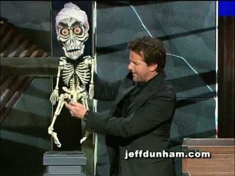 "A clip of Jeff Dunham and Achmed the Dead Terrorist from Jeff's classic stand-up special and DVD, ""Spark of Insanity"". Pt. 2"