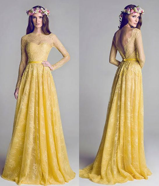 Inspirations - Lacy Gowns