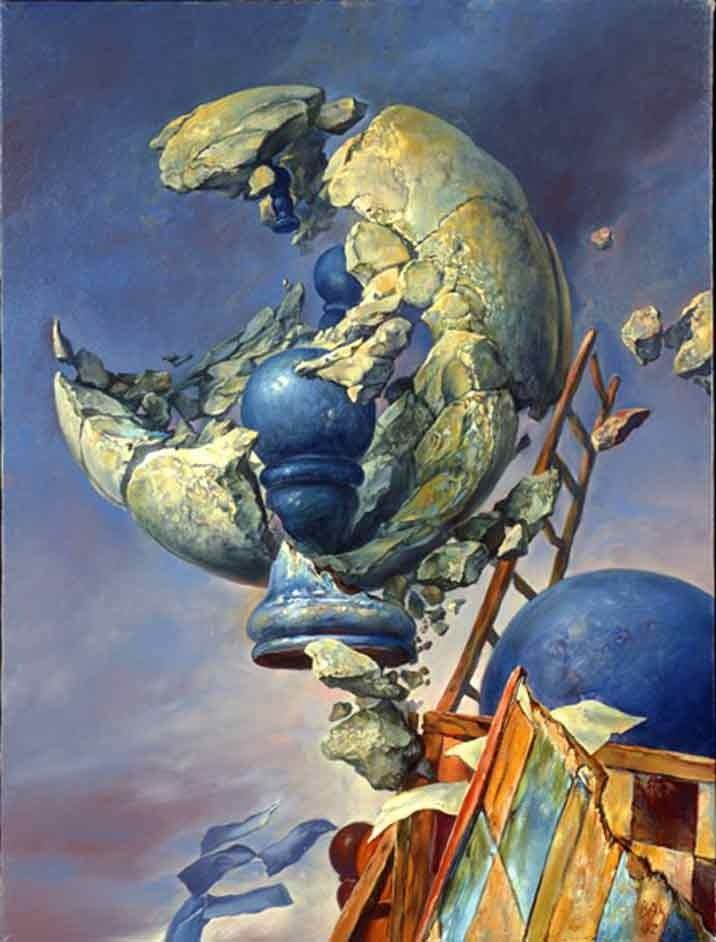 Samuel Bak el arte surrealista del Holocausto - Taringa!